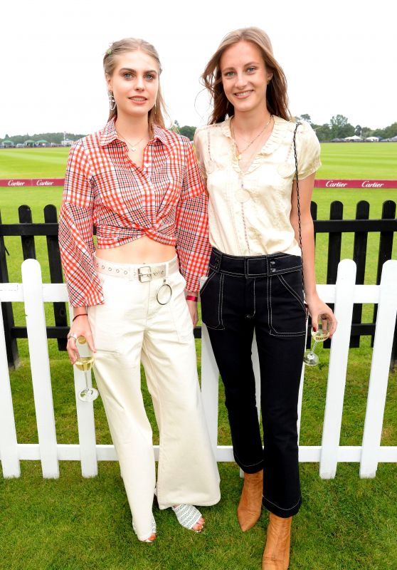 Bea Fresson – Cartier Queens Cup Polo in Windsor 06/17/2018