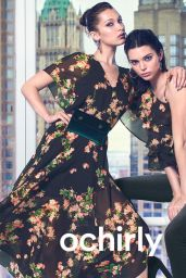 Bella Hadid and Kendall Jenner - Ochirly's Fall-Winter 2018 Campaign