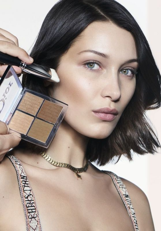 Bella Hadid - Dior Backstage Campaign 2018