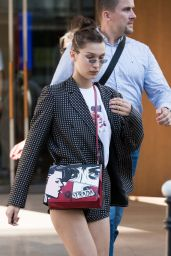 Bella Hadid in Casual Outfit - Paris 06/20/2018