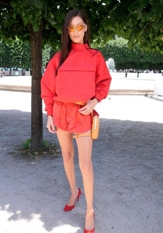 Bella Hadid - Louis Vuitton Show - Spring Summer 2019 in Paris 06/21/2018