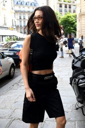 Bella Hadid Style - Out in Paris 06/22/2018