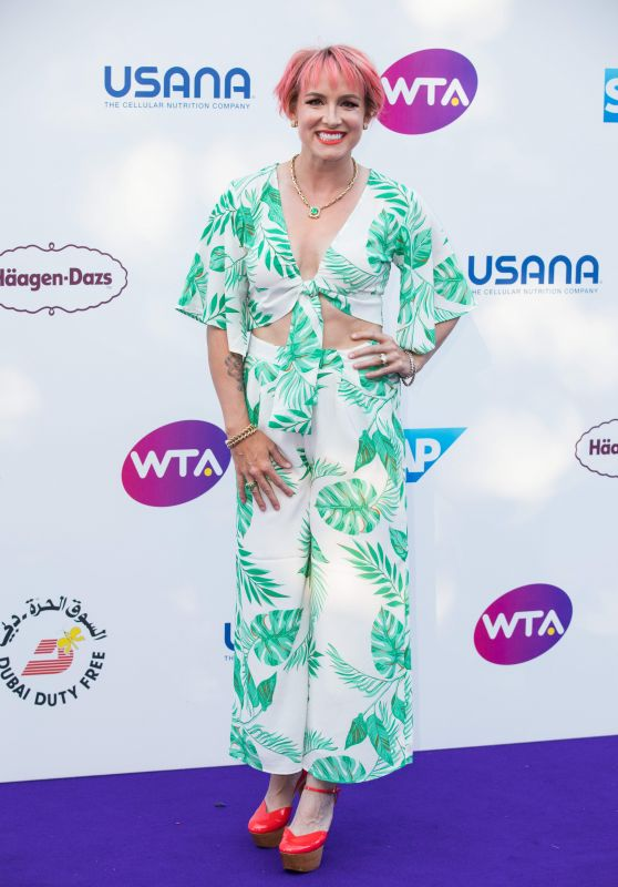 Bethanie Mattek-Sands – WTA Tennis on The Thames Evening Reception in London 06/28/2018