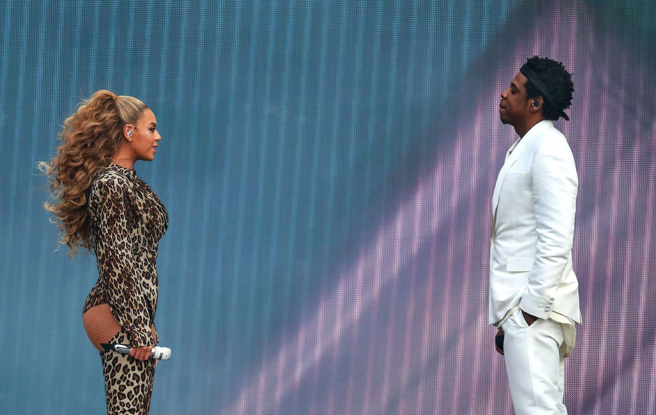 Beyonce And Jay-Z - -3974