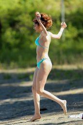 Blanca Blanco in Bikini at Lake Couer d