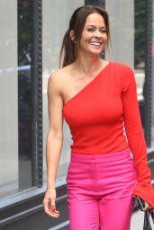 Brooke Burke at BUILD Series in New York City 06/11/2018