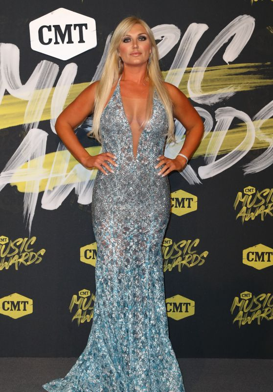Brooke Hogan - 2018 CMT Music Awards in Nashville
