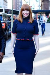 Bryce Dallas Howard -  Arriving to Appear on TODAY Show in NYC 06/14/2018