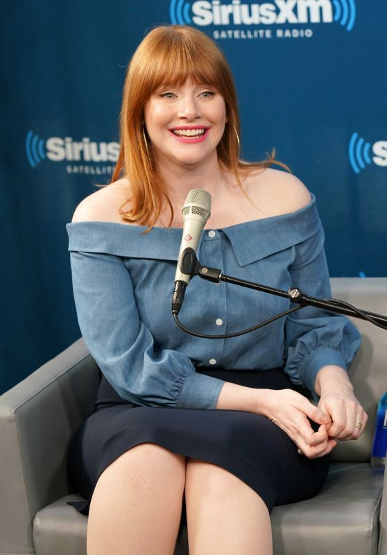 Bryce Dallas Howard at SiriusXM Studios in NYC 06/14/2018