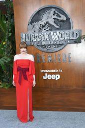 """Bryce Dallas Howard - """"Jurassic World: Fallen Kingdom"""" Premiere in LA"""