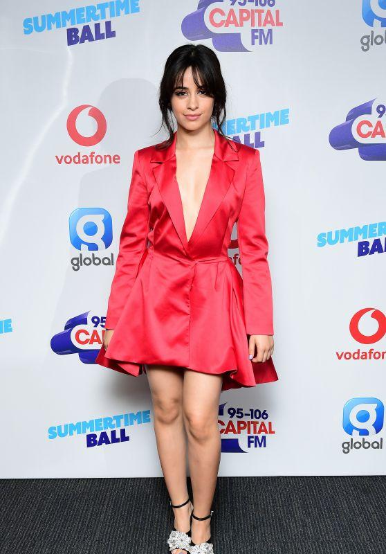 Camila Cabello – Capital FM Radio Summertime Ball 2018 in London