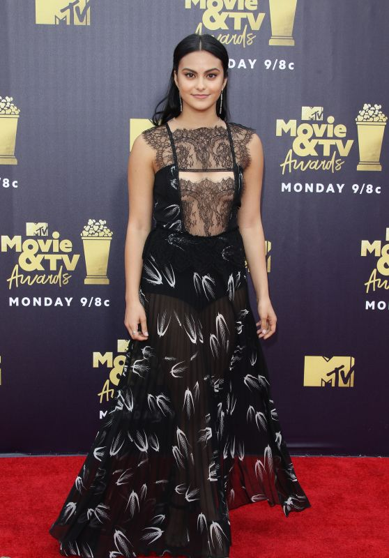 Camila Mendes – 2018 MTV Movie And TV Awards in Santa Monica