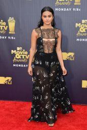 Camila Mendes – 2018 MTV Movie And TV Awards in Santa Monica