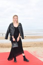 "Camille Razat – ""Roulez Jeunesse"" Photocall at Cabourg Film Festival"