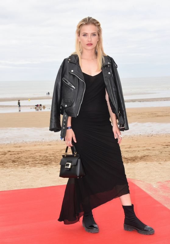 "Camille Razat – ""Roulez Jeunesse"" Photocall at Cabourg Film Festival"