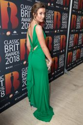 Carly Paoli – 2018 Classic Brit Awards in London