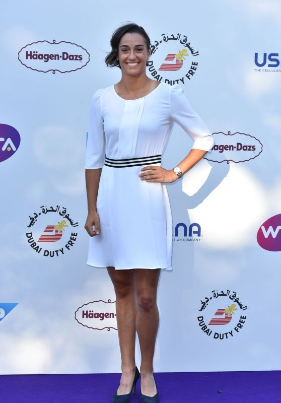 Caroline Garcia – WTA Tennis on The Thames Evening Reception in London 06/28/2018