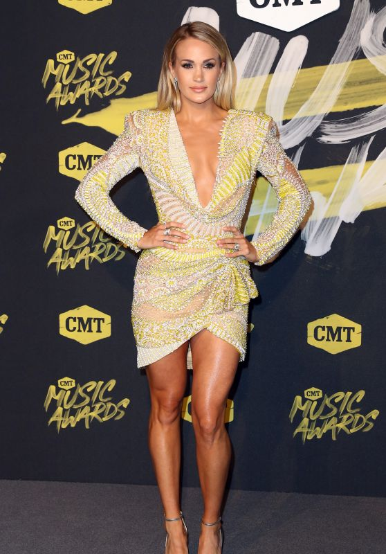 Carrie Underwood – 2018 CMT Music Awards in Nashville