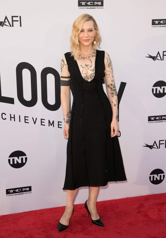 Cate Blanchett – 46th AFI Life Achievement Award Gala in LA