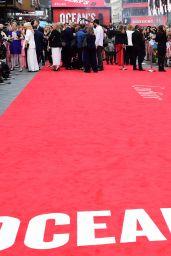 """Cate Blanchett – """"Ocean's 8"""" Premiere in London"""