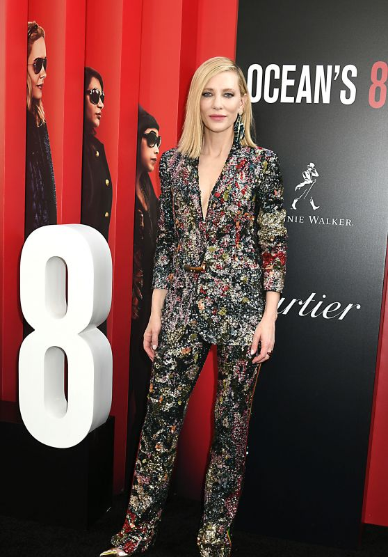 "Cate Blanchett – ""Ocean's 8"" Premiere in New York City"