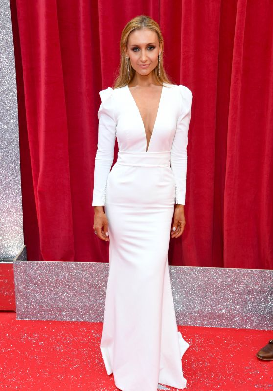 Catherine Tyldesley – British Soap Awards 2018 in London