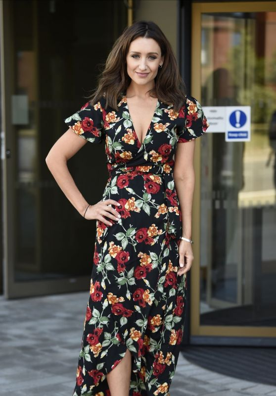Catherine Tyldesley - Out in Birmingham 06/29/2018