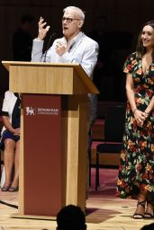 Catherine Tyldesley - Receiving an Honorary Fellowship to the Royal Birmingham Conservatoire in Birmingham 06/29/2018