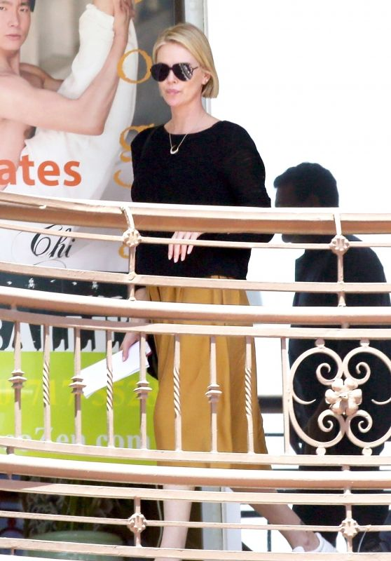 Charlize Theron Candids - Out in Los Angeles 06/15/2018