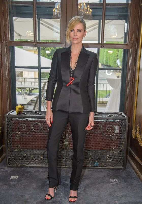Charlize Theron - Crystal Of Hope 2018 Outreach Project in Vienna