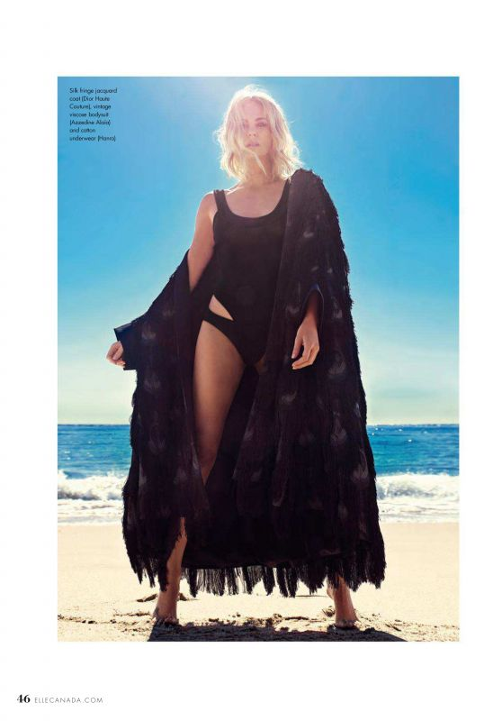 Charlize Theron - Elle Canada Summer 2018