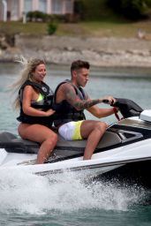 Charlotte Crosby in Swimsuit on holiday in Saint Lucia 06/13/2018