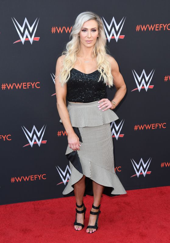 Charlotte Flair – WWE's First-Ever Emmy FYC Event in North Hollywood 06/06/2018