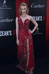 """Charlotte Kirk – """"Ocean's 8"""" Premiere in New York City"""