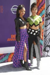 Chloe Bailey and Halle Bailey – 2018 BET Awards in Los Angeles