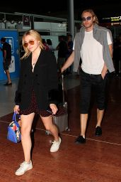 Chloe Grace Moretz Arrive at Charles de Gaulle Airport in Paris 06/30/2018