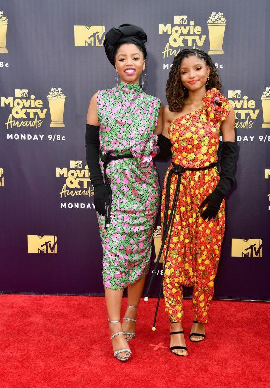 Chloe X Halle – 2018 MTV Movie And TV Awards in Santa Monica