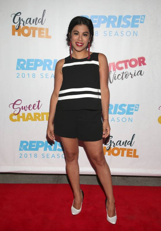 """Chrissie Fit – Reprise 2.0 Presents """"Sweet Charity"""" Play in LA 06/20/2018"""