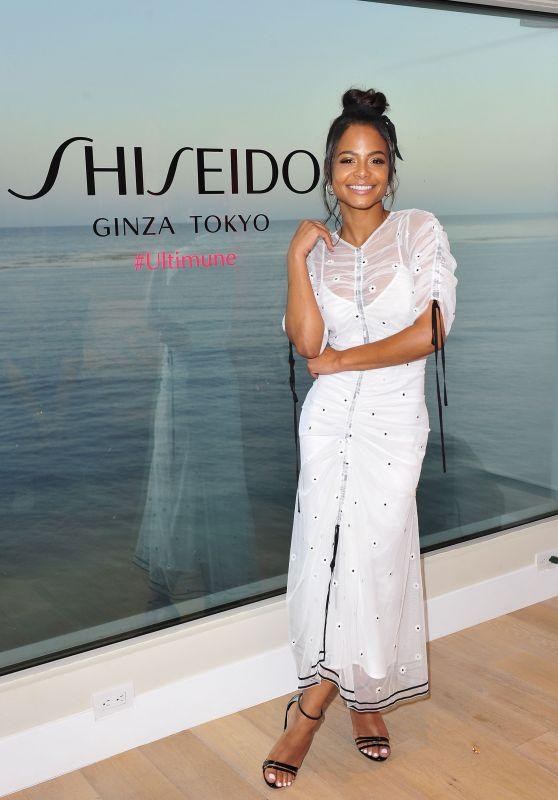 Christina Milian – New Shiseido Ultimune US Launch in Malibu