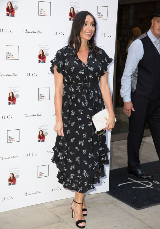 "Christine Bleakley – ""Andrea McLean: Confessions of a Menopausal Woman"" Book Launch Party in London"
