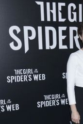 "Claire Foy - ""The Girl in the Spider"