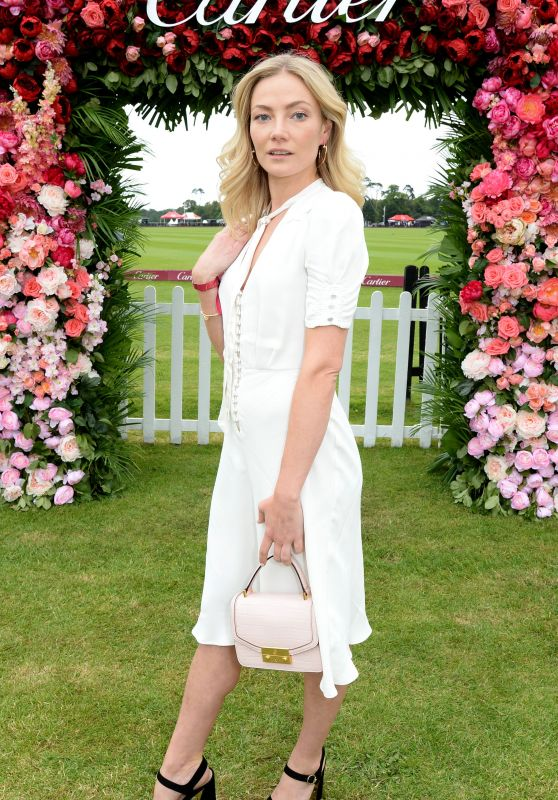 Clara Paget – Cartier Queens Cup Polo in Windsor 06/17/2018