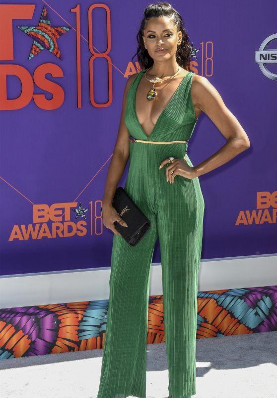 Claudia Jordan – 2018 BET Awards in Los Angeles