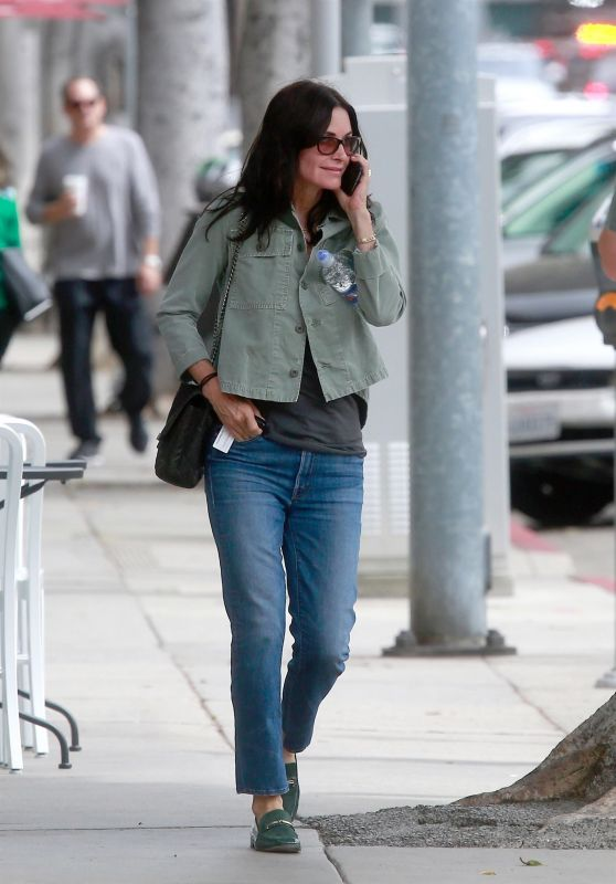 Courteney Cox Casual Style - Out in Beverly Hills 05/31/2018