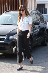 Dakota Johnson Casual Style - Leaving Mèche Salon in West Hollywood 06/21/2018
