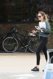 Dakota Johnson in Tights - Out in Malibu 06/22/2018