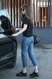 Dakota Johnson - Leaving Meche Hair Salon in Beverly Hills 06/26/2018