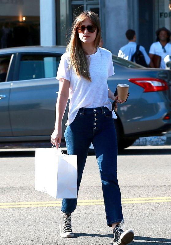 Dakota Johnson - Shopping in West Hollywood 06/06/2018