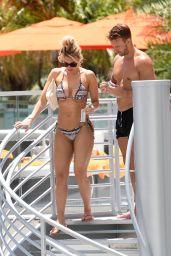Danielle Armstrong in Bikini by the Pool in Miami 06/27/2018