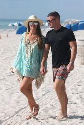 Danielle Lloyd in Bikini - Miami Beach 06/09/2018